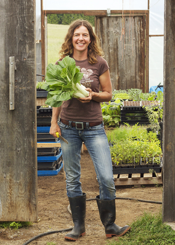 Boss Lady: Angie Koch, Organic Farmer