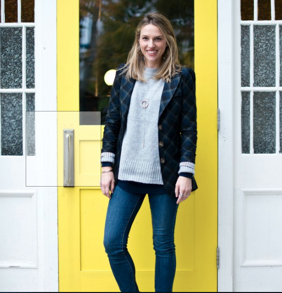 blazer smithery yellow door fashion