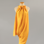 yellow dress mama stella mccartney mindful fashion ethical sustainable