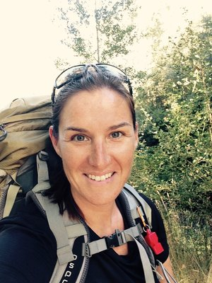 backpack, hiker, woman